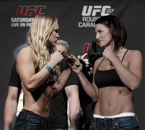 Ronda Rousey Vs. Gina Carano Rumour - The Fight Is Agreed - MMA UK