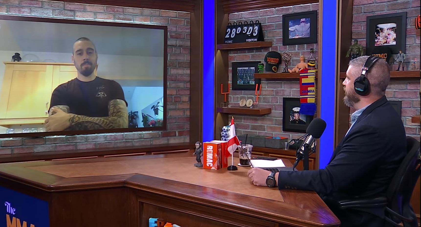 Dan Hardy on MMA Hour