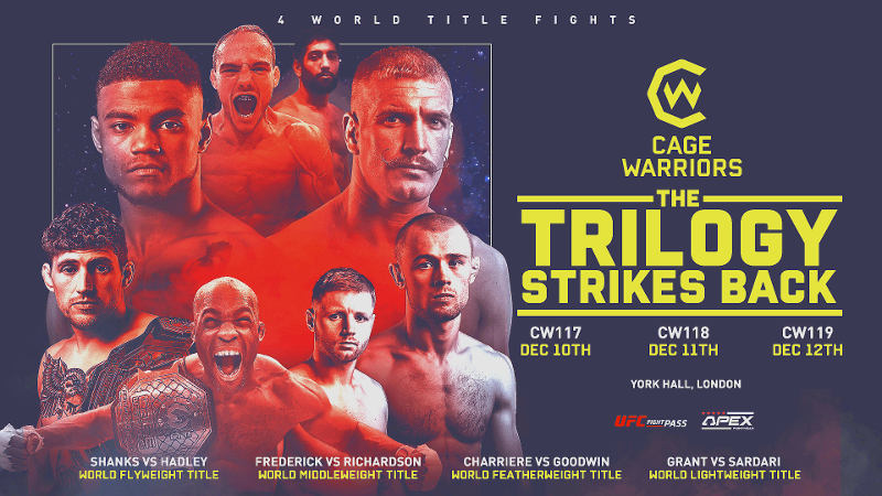 LiveCage Warriors 119 Online-Streaming Link 3