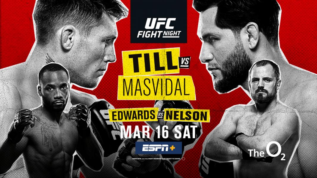 UFC Fight Night: Till vs Masvidal results