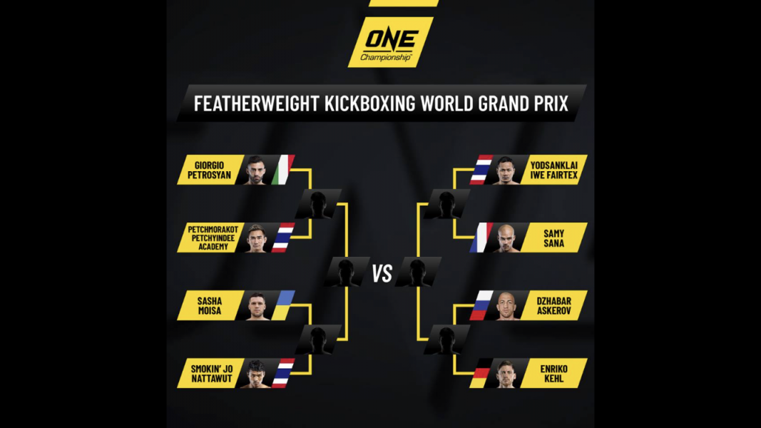 ONE Championship Offers US 1 Million For Winner of ONE Featherweight Kickboxing World Grand Prix