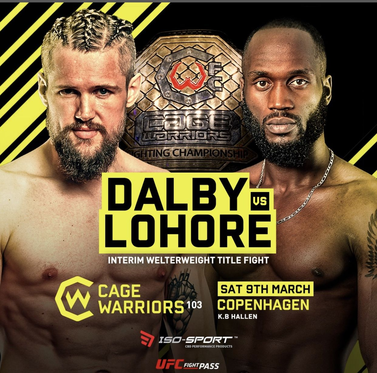 Cage Warriors 103 live results