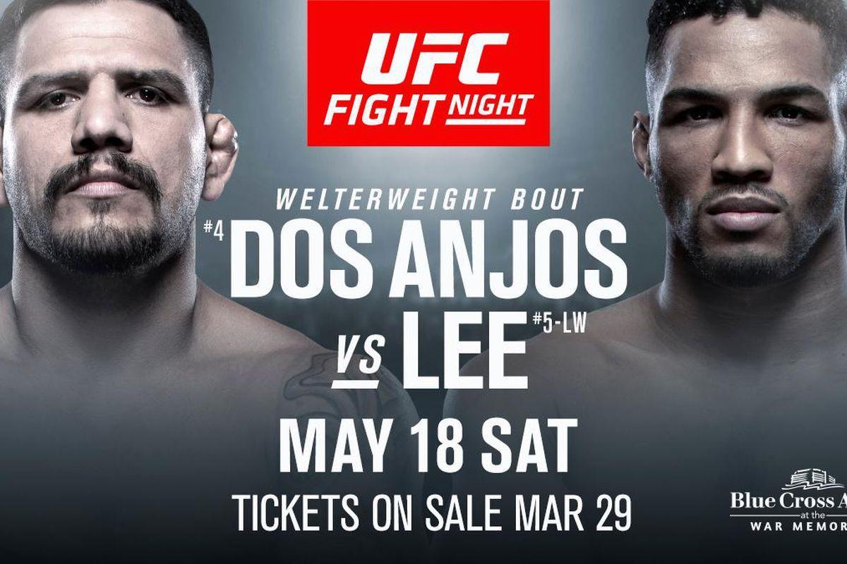 UFC Rochester: Dos Anjos Vs Lee