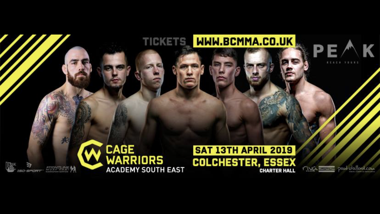Cage Warriors Academy South East live results