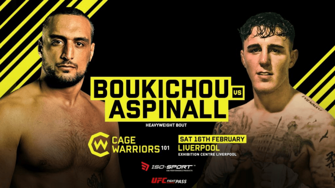 Cage Warriors 101: Aspinall vs Boukichou Results