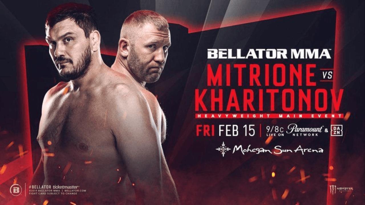 Bellator 215: Mitrione vs. Kharitonov Results