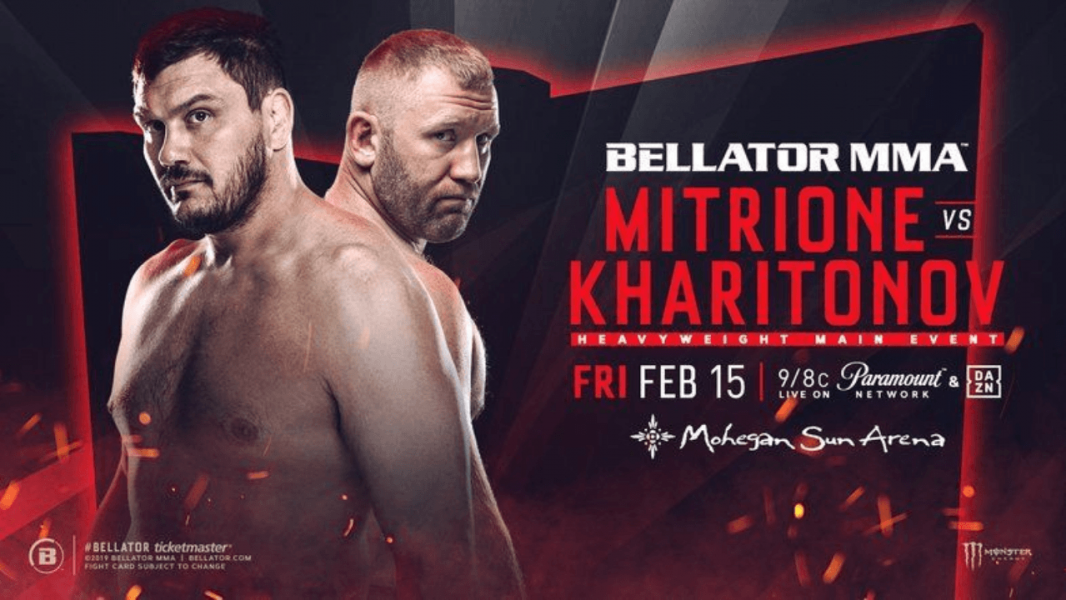 Bellator 215: Mitrione vs. Kharitonov Results