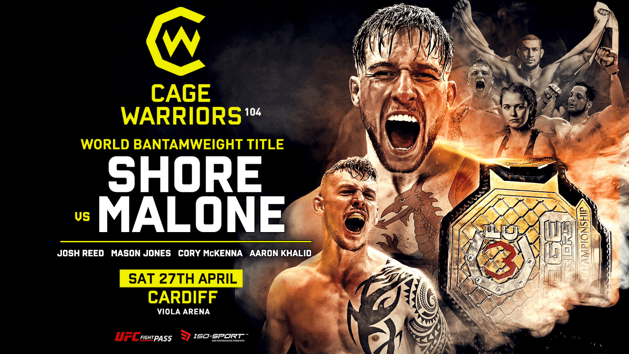 CW104 full fight card and broadcast details