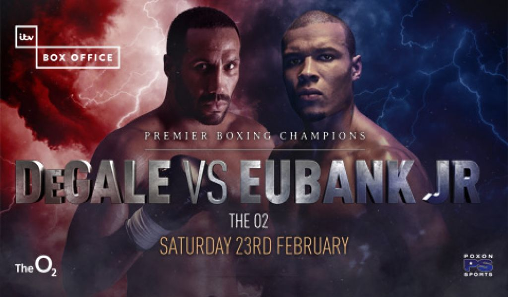James DeGale and Chris Eubank Jr collide on February 23rd