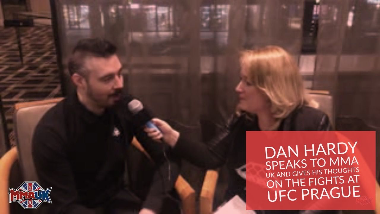 Dan Hardy speaks to MMA UK and gives his thoughts on the fights at UFC Prague
