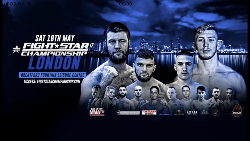 Fightstar Championship 17 results