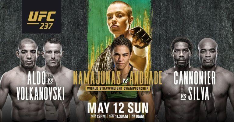 UFC 237: Namajunas vs. Andrade results