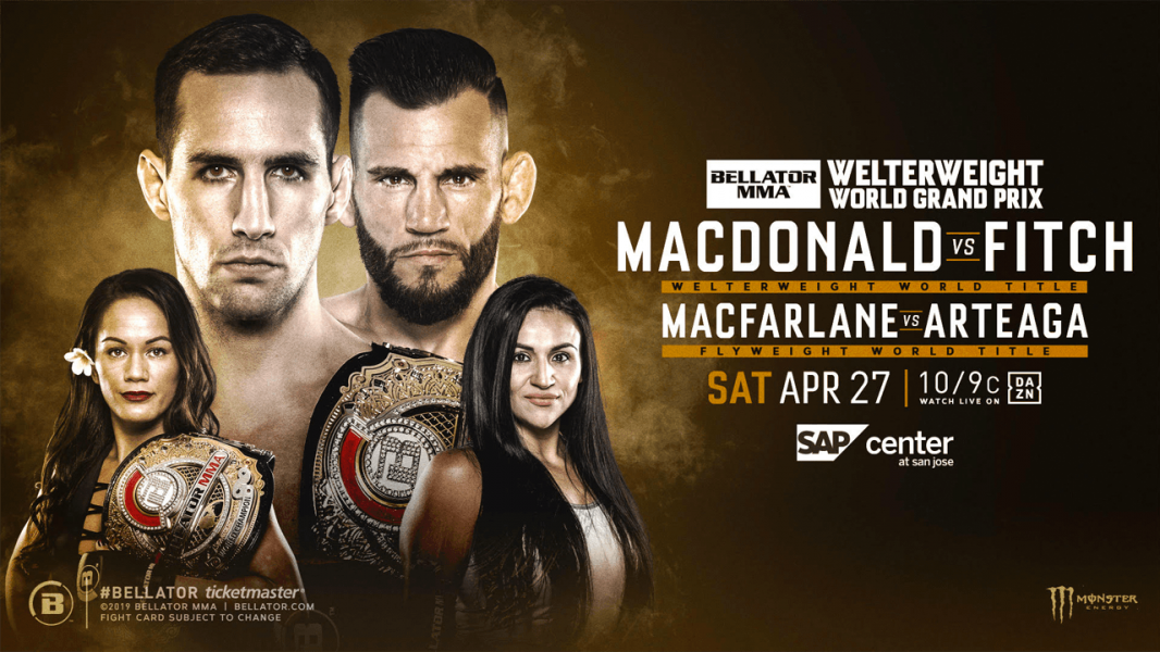 Full Fight Card Announced for Saturday's Bellator 220