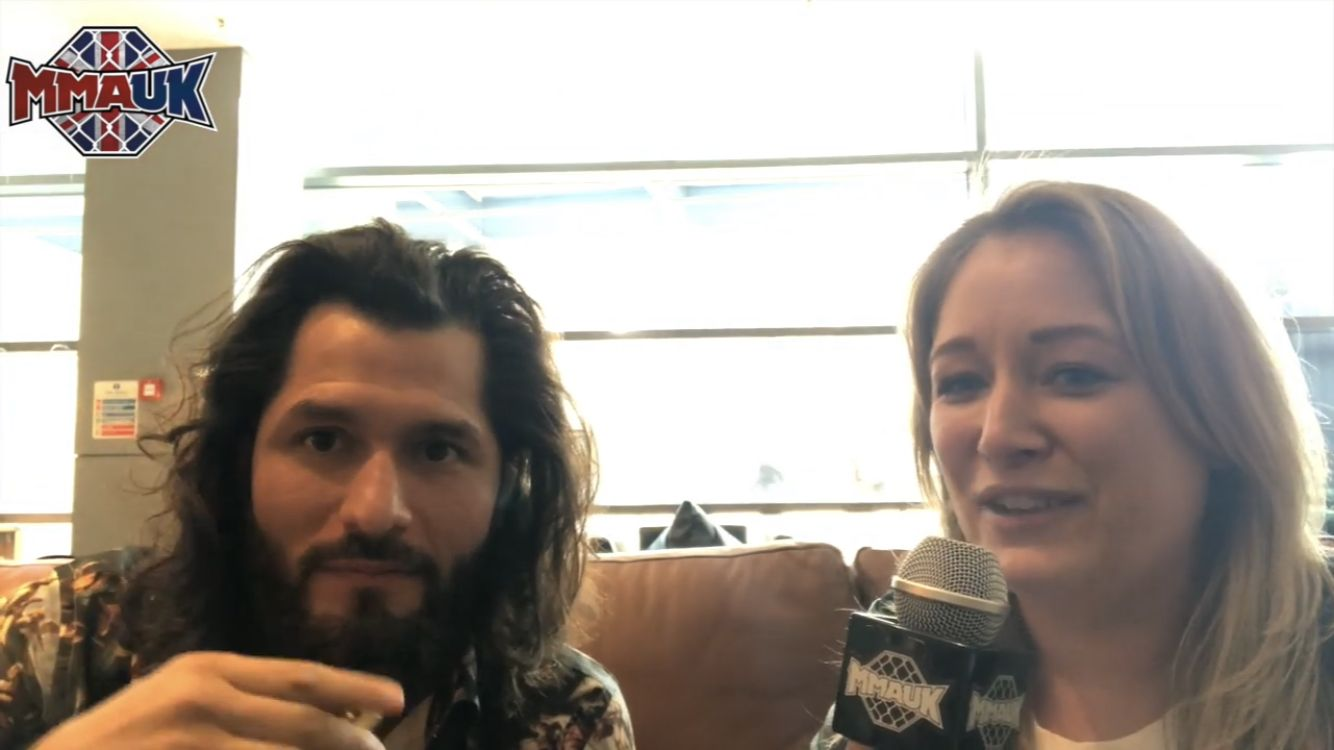 Jorge Masvidal speaks to MMA UK ahead of his fight against Darren Till at UFC London