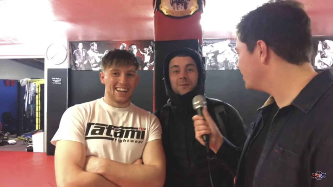 Jack 'Tank' Shore ready for Cage Warriors 104
