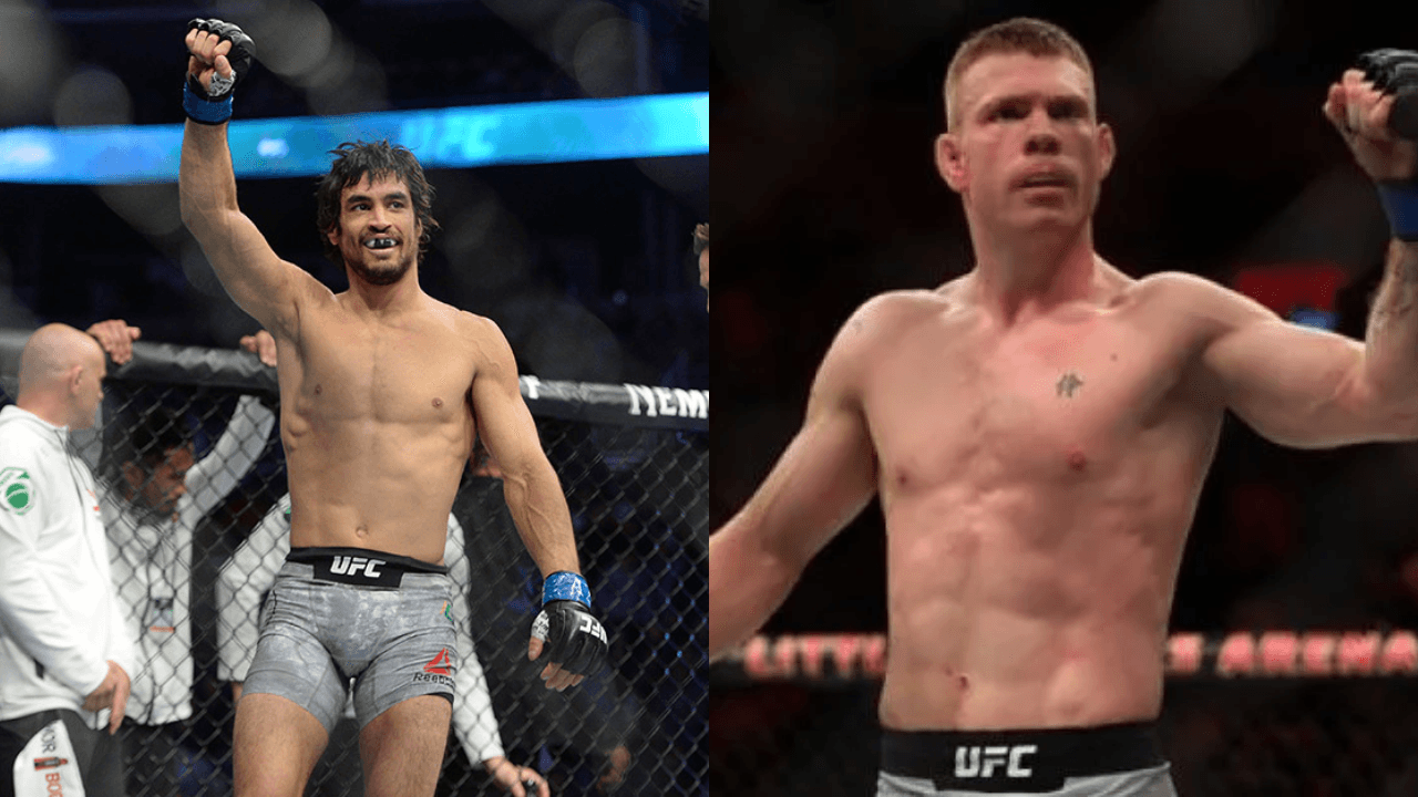 Backseat matchmaker: Kron Gracie and Paul Felder