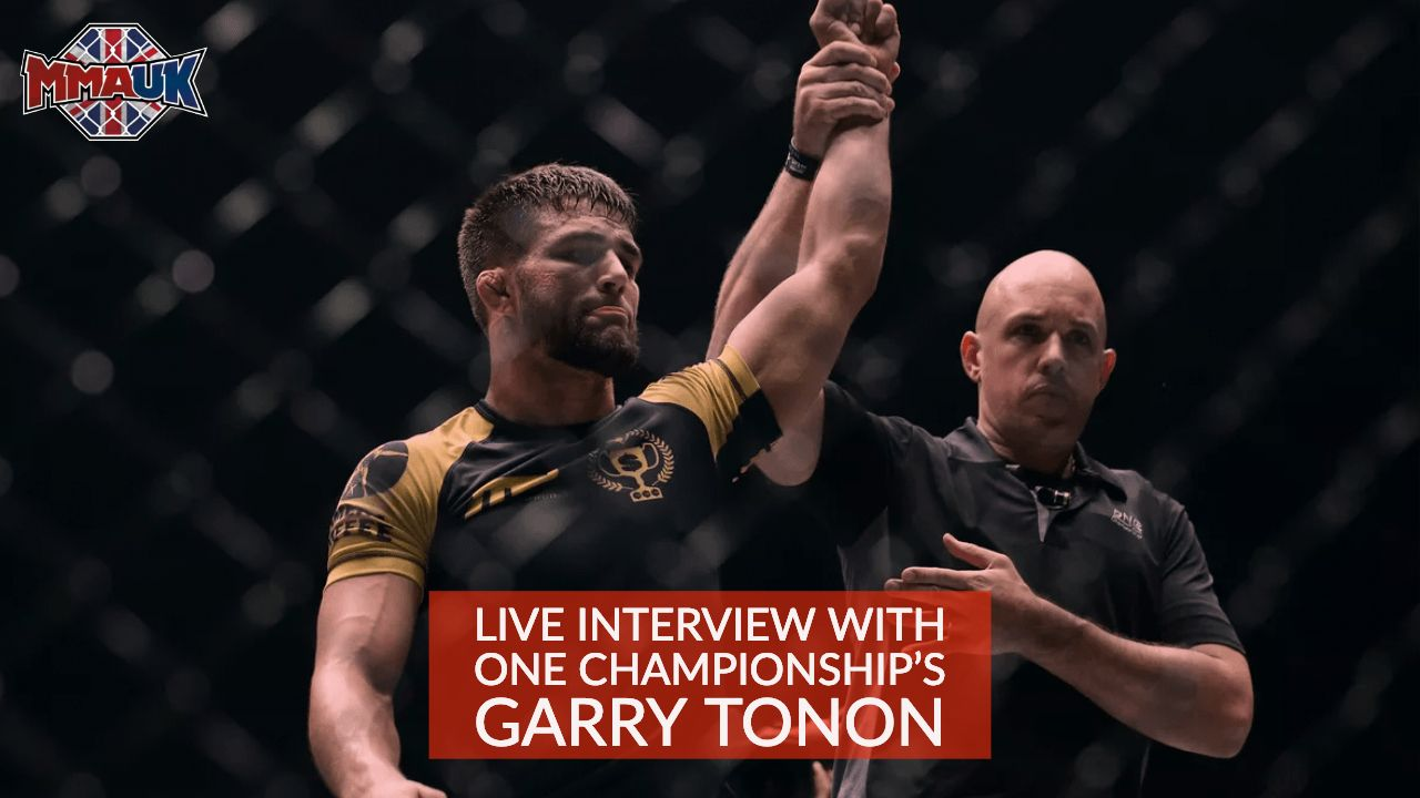 Live interview with ONE Championship's Garry Tonon