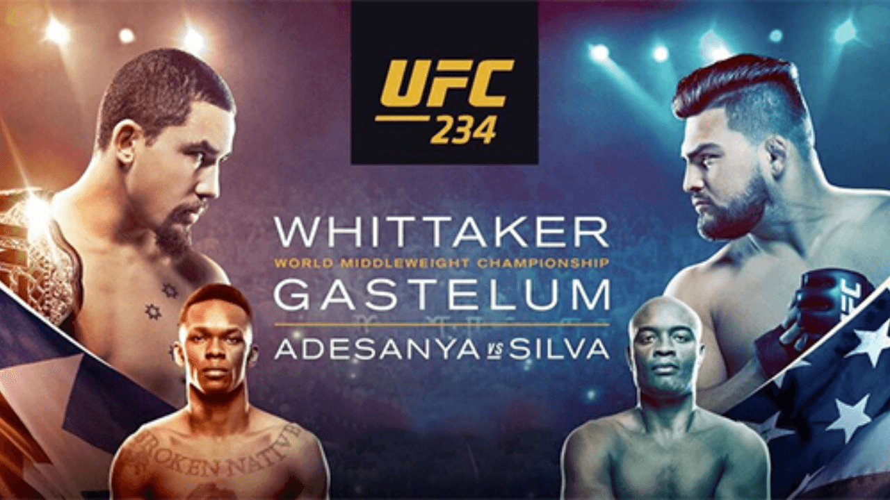 UFC 234: WHITTAKER vs. GASTELUM Live Results