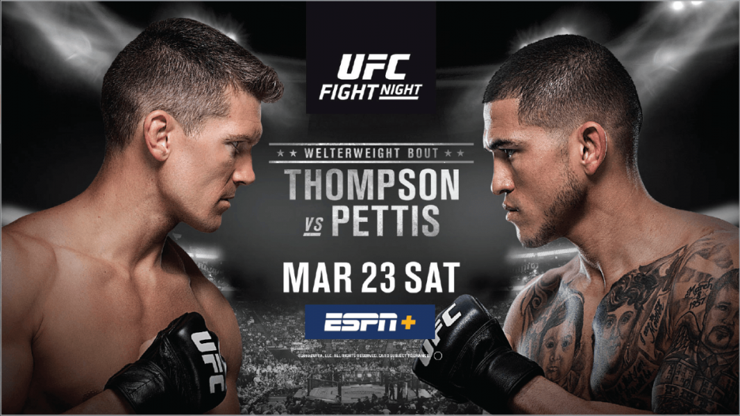 UFC Fight Night: Thompson vs Pettis live results