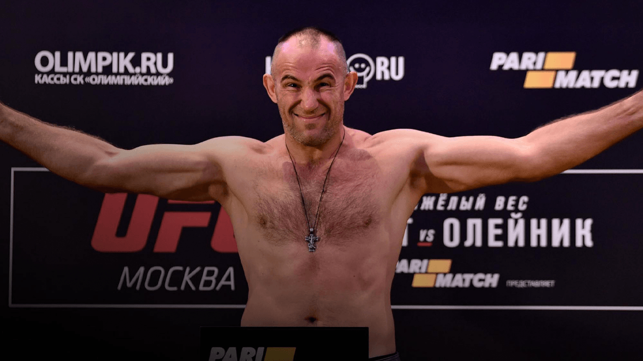 UFC Saint Petersburg: Official Weigh In Results