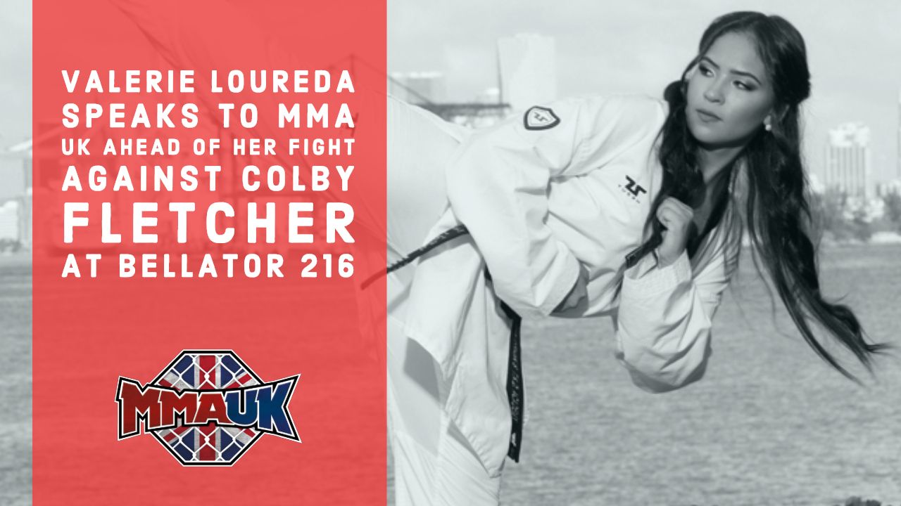 Valerie Loureda speaks to MMA UK ahead of her fight against Colby Fletcher at Bellator 216