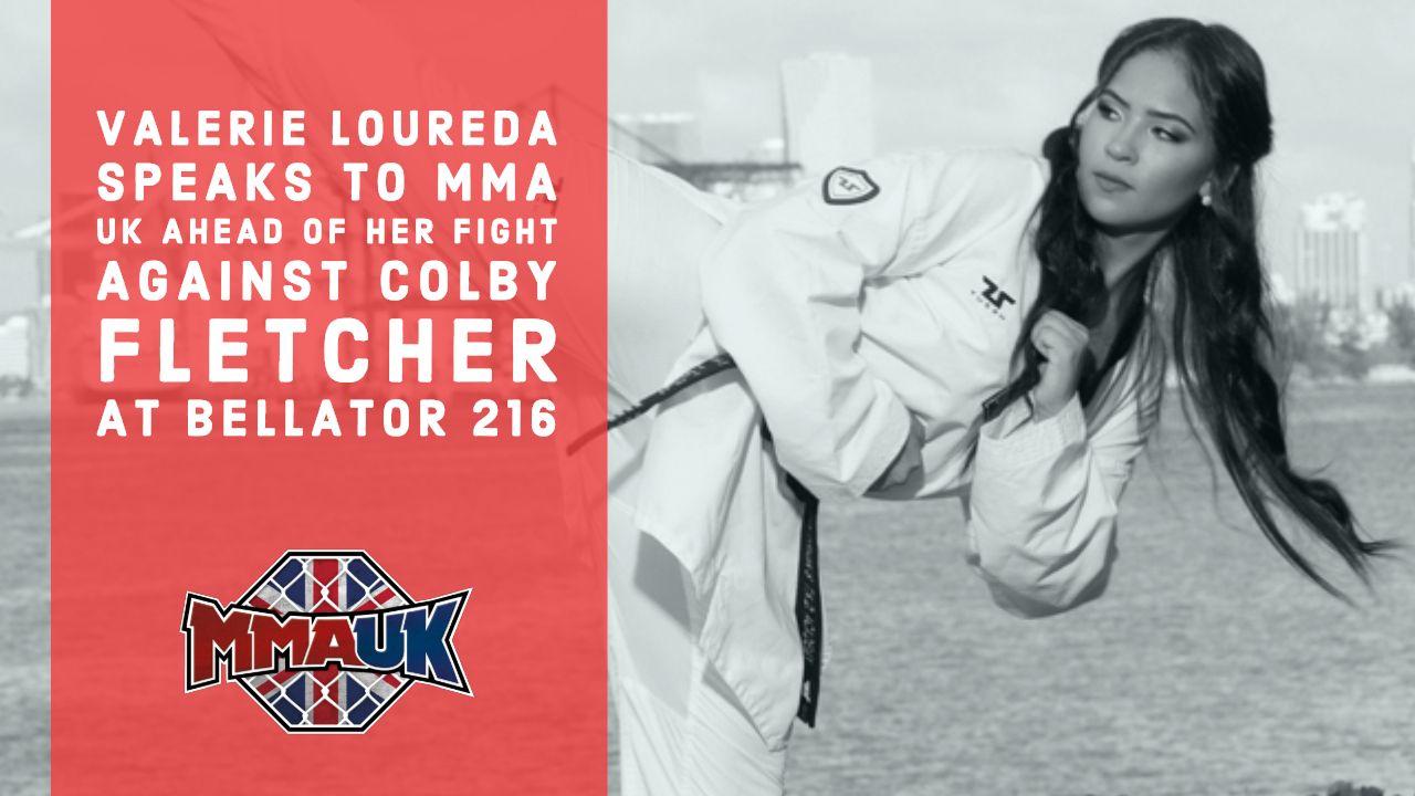 Valerie Loureda speaks to MMA UK ahead of her fight against Colby Fletcher at Bellator 216