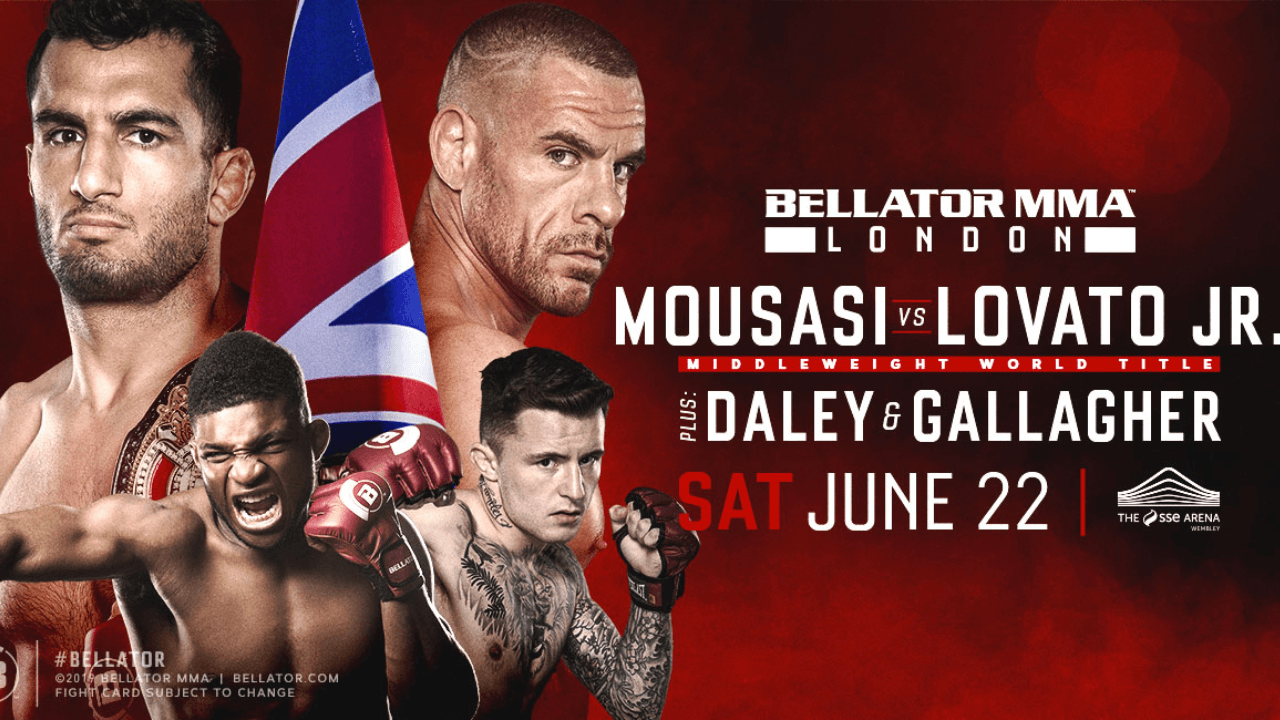 Thrilling middleweight bouts added to Bellator London prelims