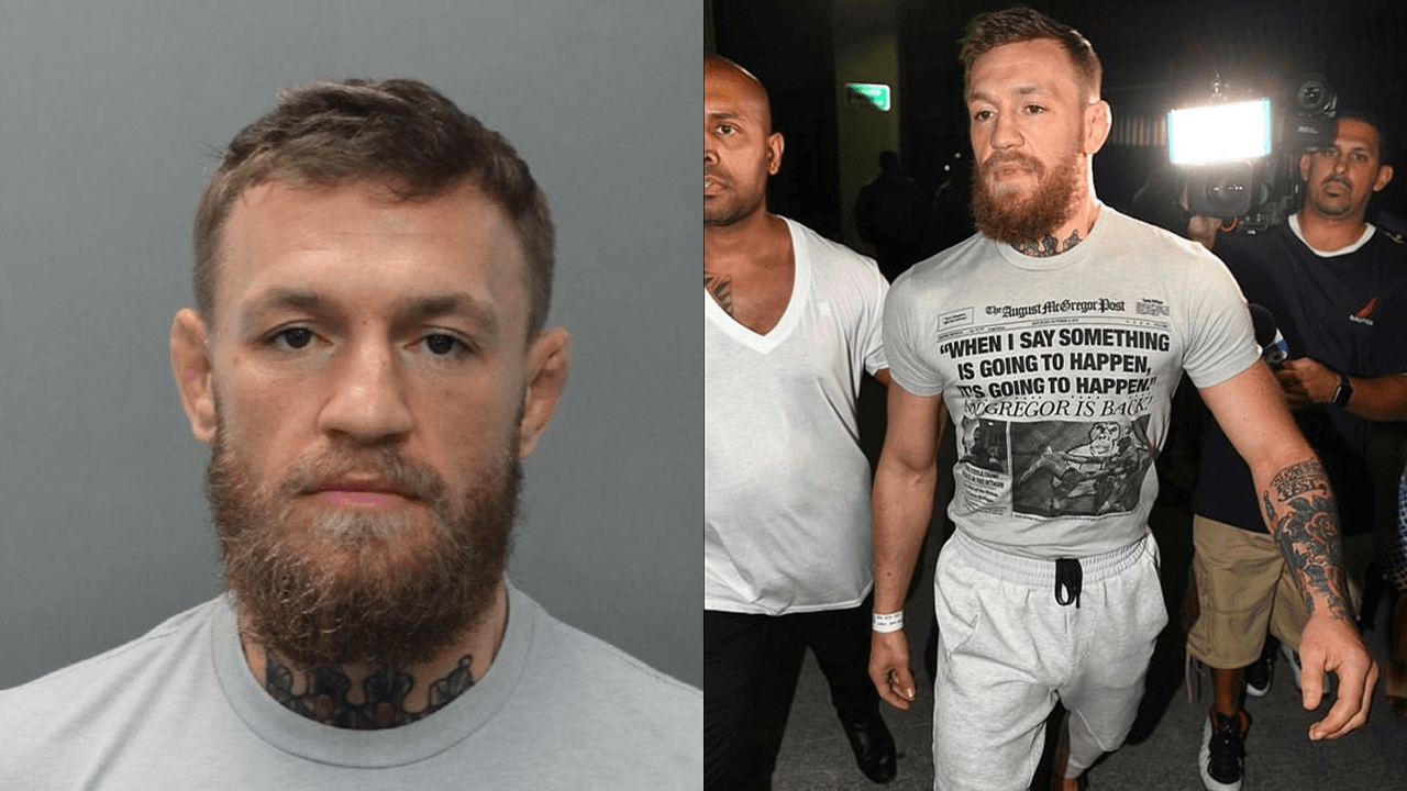 Watch the video of Conor McGregor smashing the phone that led to his arrest in Miami