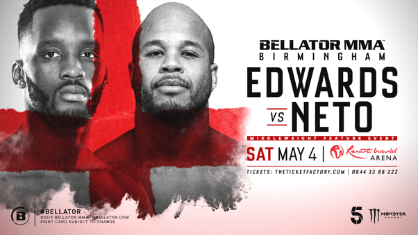 Hometown hero Fabian Edwards joins main card for Bellator Birmingham