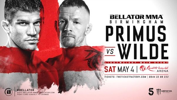 More bouts added to Bellator Birmingham as second European Fight Series event takes shape