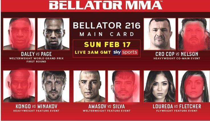 Bellator 216 – Fight Picks
