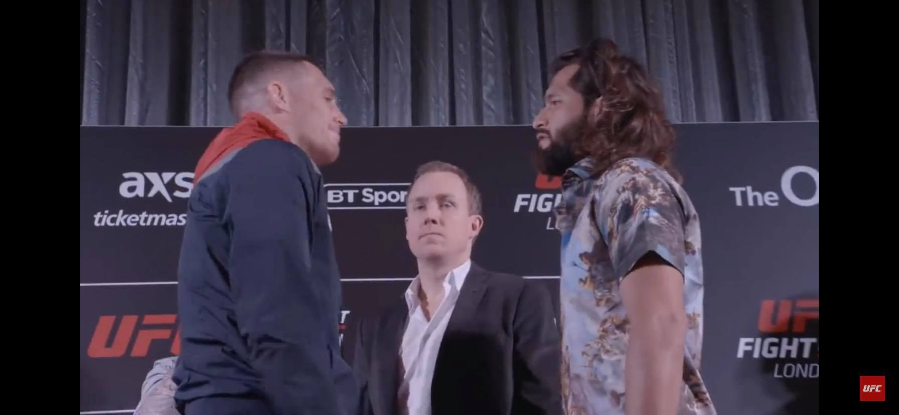 UFC London Weigh In Results