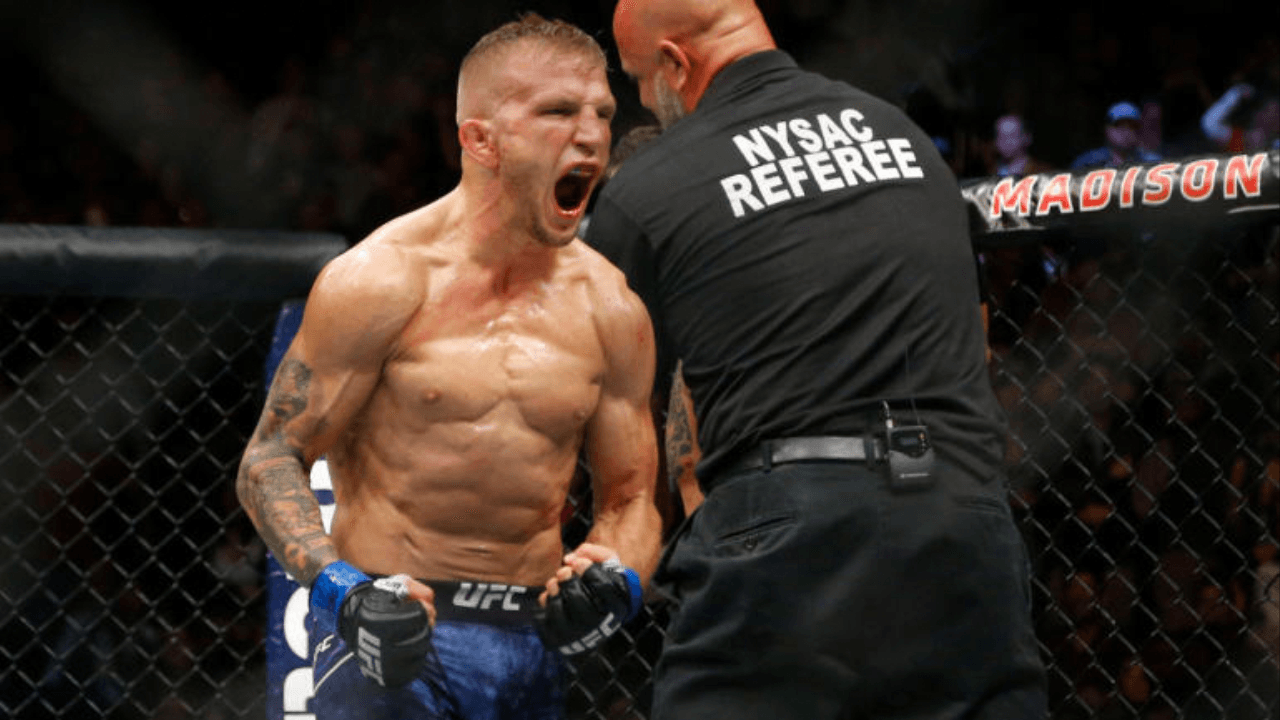 TJ Dillashaw voluntarily vacates the UFC bantamweight title