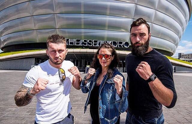 UFC back to Glasgow in July?