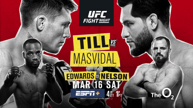 UFC on ESPN+ 5: Till vs. Masvidal – The O2 Arena, London – Bout Previews